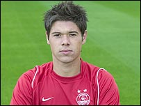 Aberdeen midfielder Jamie Winter