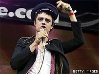 Pete Doherty at Live 8