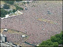 Hyde Park crowd