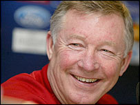 Man Utd manager Sir Alex Ferguson