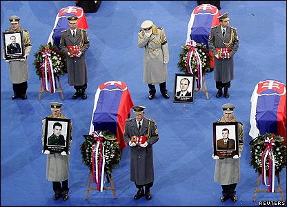 An official state ceremony in memory of Slovak soldiers