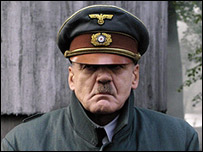 Bruno Ganz portrays Hitler's final days in his bunker