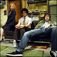 Publicity for Channel 4's The IT Crowd
