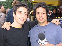 Javier Weyler y Héctor Riazuelo