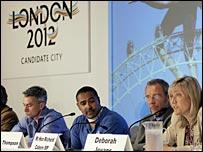 London's team in Singapore