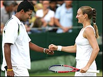 Mary Pierce and Mahesh Bhupathi