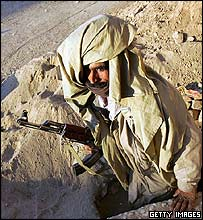 Baloch militiaman