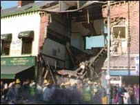 Shankill bomb scene