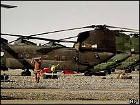 Chinooks in Afghanistan