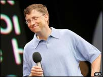 Bill Gates at Live 8