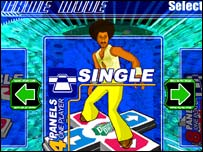 Screenshot of DDR, Konami