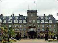 Gleneagles hotel in Auchterarder, Perthshire, Scotland