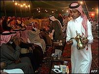 Saudi election gathering
