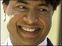 Lakshmi Mittal, Mittal Steel chairman and chief executive