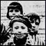 Узники детского блока Освенцима