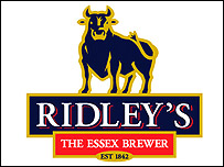 Ridley's brewery