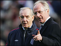 Tord Grip and Sven-Goran Eriksson