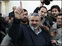 Hamas Prime Minister-designate Ismail Haniya