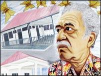 Portrait of Garcia Marquez