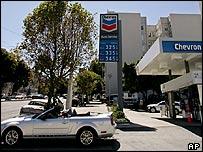 Chevron petrol station