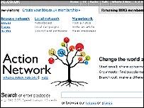 Action Network website