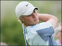 Golfer Oliver Fisher