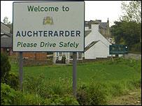 Auchterarder sign