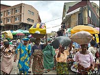 Women in Lagos, Nigeria