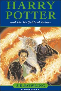 Harry Potter book cover (UK version)