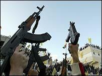 Fatah activists in anti-Abbas protest in Gaza