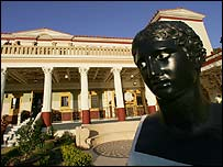The Getty Villa, in Los Angeles