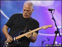 Pink Floyd guitarist Dave Gilmour