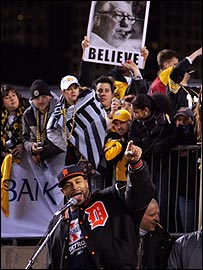 """Jerome Bettis addresses """"Steeler Nation"""" ahead of the Super Bowl"""