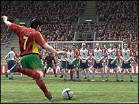 Screenshot of Pro Evo Soccer 4