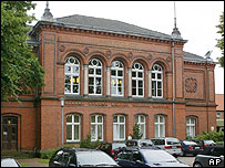 Image of the court house in Verden, northern Germany