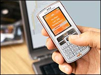 Sony Ericsson Walkman mobile