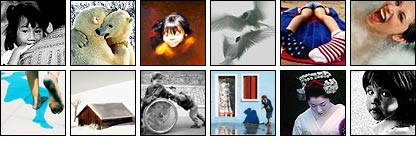 Some of the winning pictures from the 2004 photographic competition
