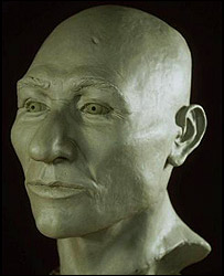 A model of Kennewick Man, AP