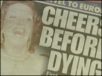 Mrs Murphy was said to be jubilant about dying (Daily Record)