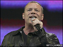 UB40 at London's Live 8 concert