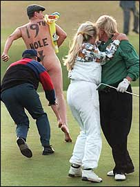 John Daly at St Andrews in 1995