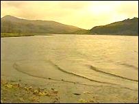 Cwellyn reservoir