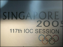 The destiny of the 2012 Olympics will be decided on Wednesday