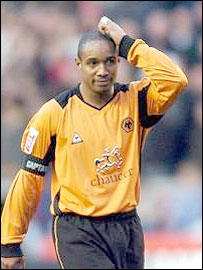 Wolves skipper Paul Ince scratched his head