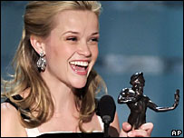 Reese Witherspoon at the SAG ceremony in Los Angeles