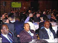 Delegates at the G8 Business Action for Africa summit