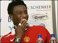 Mikel signed a deal with Man Utd in April