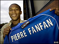 Pierre-Fanfan is Rangers' third summer signing