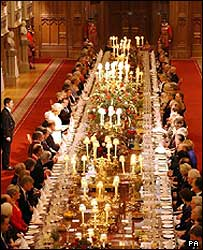 Banquet at Windsor Castle for centenary of the entente cordiale