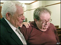 Alleged Kentucky child abuse victim Richard Lillick (right)